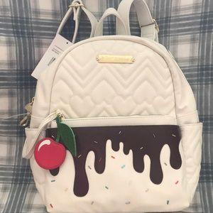 Betsey Johnson ice cream Backpack